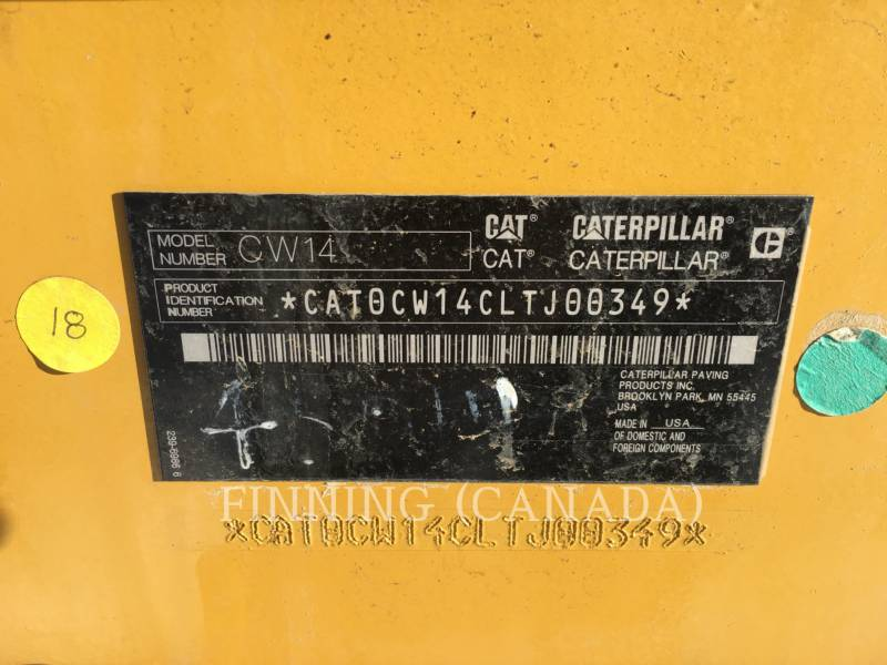 CATERPILLAR VERDICHTER CW14 equipment  photo 5