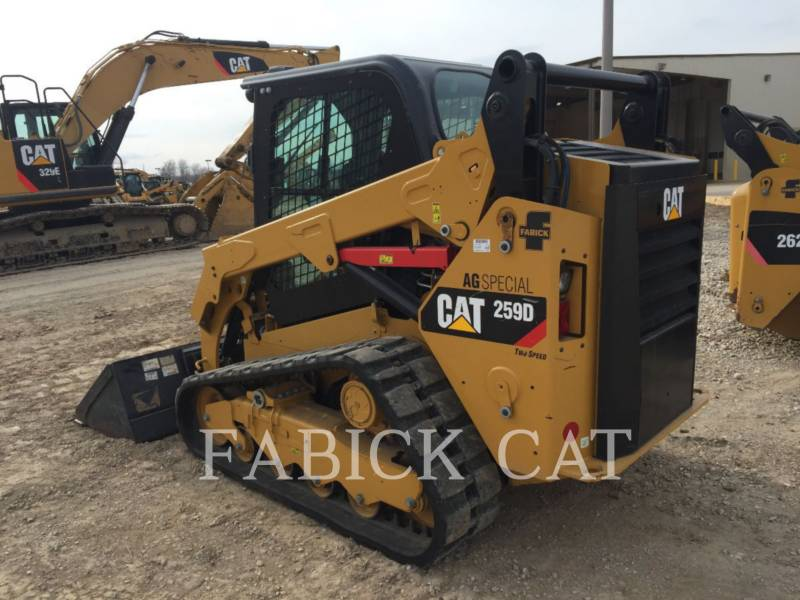 CATERPILLAR CARGADORES MULTITERRENO 259D CSP equipment  photo 2