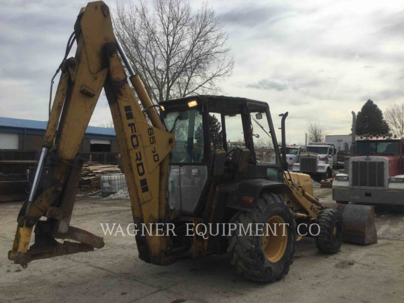 FORD / NEW HOLLAND BACKHOE LOADERS 655D equipment  photo 2