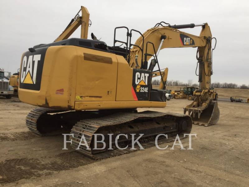 CATERPILLAR PELLES SUR CHAINES 324E HT equipment  photo 4