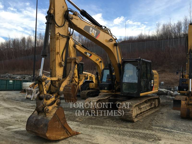 CATERPILLAR KETTEN-HYDRAULIKBAGGER 318 E L equipment  photo 1