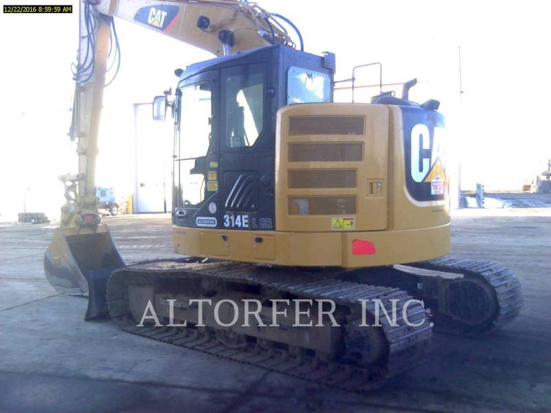 CATERPILLAR KETTEN-HYDRAULIKBAGGER 314EL CR equipment  photo 1