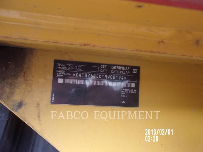 Caterpillar MINIÎNCĂRCĂTOARE RIGIDE MULTIFUNCŢIONALE 262C2 BW equipment  photo 5