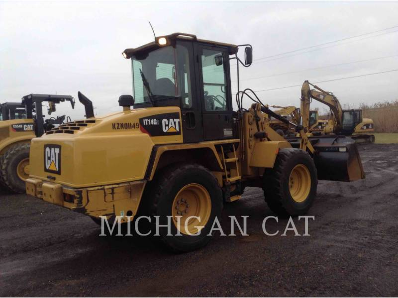 CATERPILLAR WHEEL LOADERS/INTEGRATED TOOLCARRIERS IT14G equipment  photo 4
