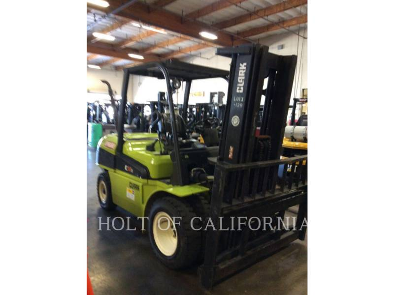 CLARK FORKLIFTS C55SD equipment  photo 2