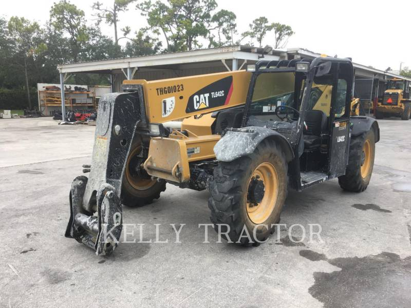 CATERPILLAR TELESKOPSTAPLER TL642C equipment  photo 1