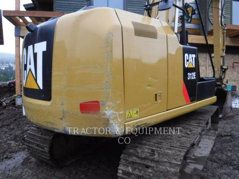 CATERPILLAR TRACK EXCAVATORS 312E equipment  photo 6