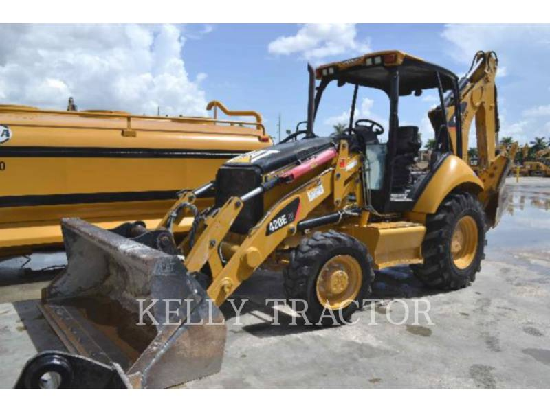 CATERPILLAR RETROESCAVADEIRAS 420EIT equipment  photo 1