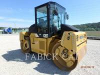 CATERPILLAR VIBRATORY DOUBLE DRUM ASPHALT CD54 equipment  photo 3