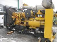 CATERPILLAR STATIONARY GENERATOR SETS C15, 454KW PRIME 480V equipment  photo 1