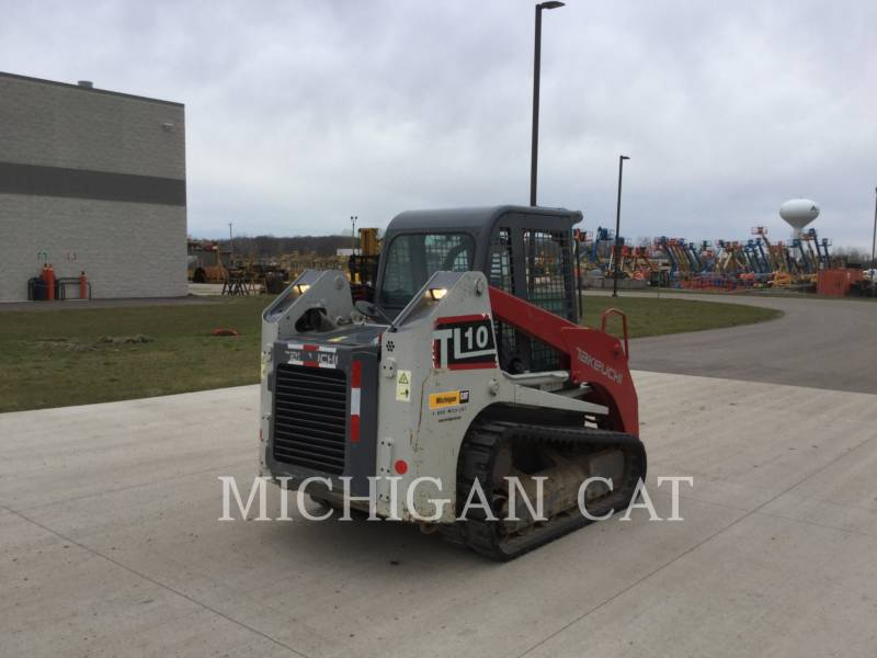 TAKEUCHI MFG. CO. LTD. CARGADORES MULTITERRENO TL10 equipment  photo 3