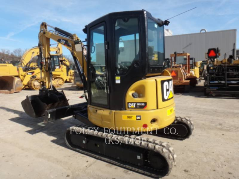 CATERPILLAR TRACK EXCAVATORS 303.5E2LC equipment  photo 3