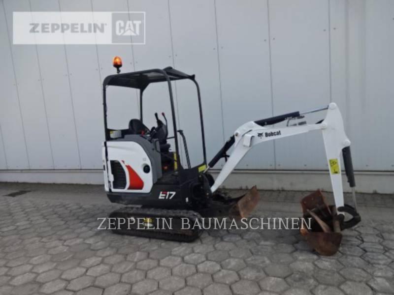BOBCAT TRACK EXCAVATORS E17 equipment  photo 8