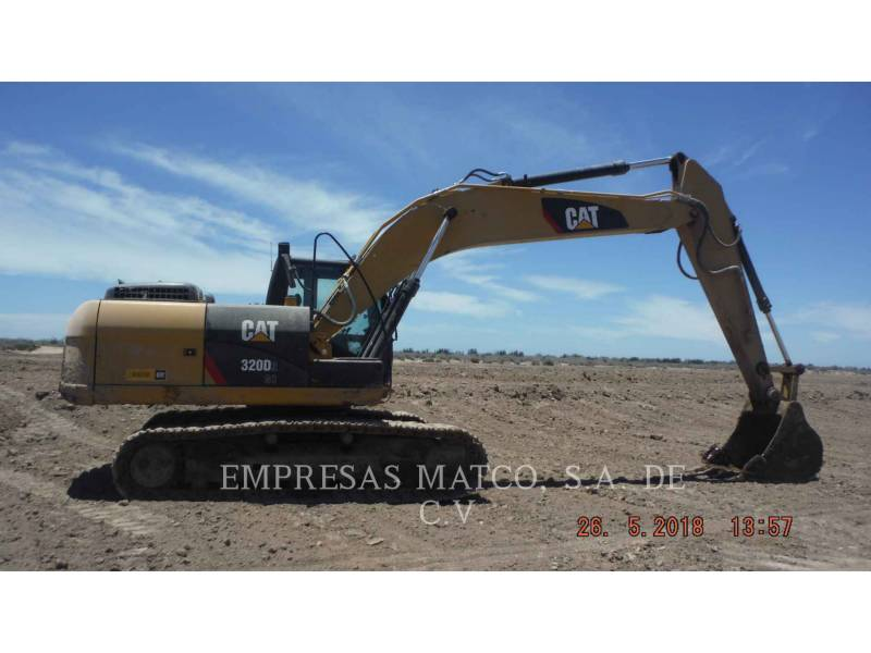 CATERPILLAR TRACK EXCAVATORS 320 D 2 GC equipment  photo 1
