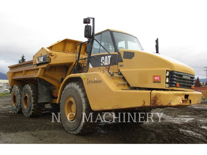 CATERPILLAR TOMBEREAUX ARTICULÉS 740 EJECT equipment  photo 2