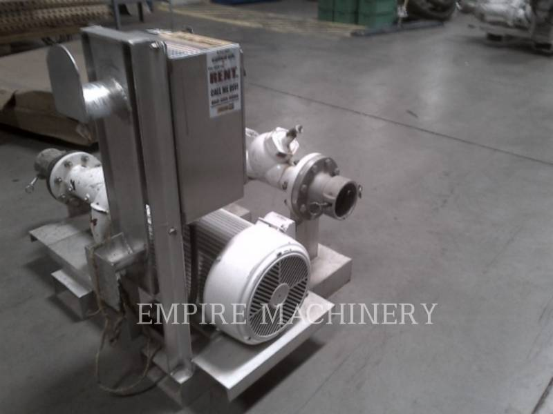 MISC - ENG DIVISION HVAC: ヒータ、換気、およびエアコン (OBS) PUMP 25HP equipment  photo 4