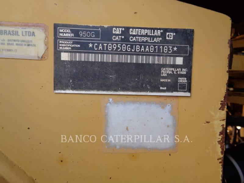 CATERPILLAR RADLADER/INDUSTRIE-RADLADER 950GII equipment  photo 12