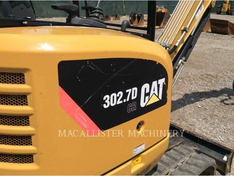 CATERPILLAR ESCAVATORI CINGOLATI 302.7DCR equipment  photo 9
