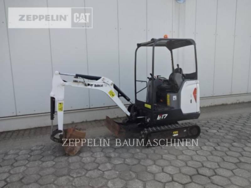 BOBCAT TRACK EXCAVATORS E17 equipment  photo 2