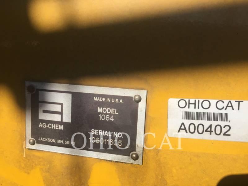 AG-CHEM SPRÜHVORRICHTUNGEN 1064 equipment  photo 18
