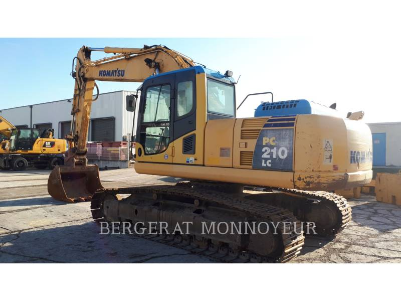 KOMATSU PELLES SUR CHAINES PC210LC6 equipment  photo 2
