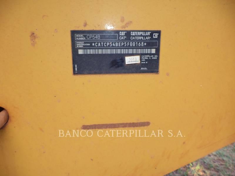 CATERPILLAR SOPORTE DE TAMBOR ÚNICO VIBRATORIO CP54B equipment  photo 10