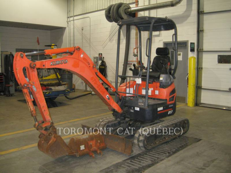 KUBOTA CORPORATION EXCAVADORAS DE CADENAS U17 equipment  photo 3