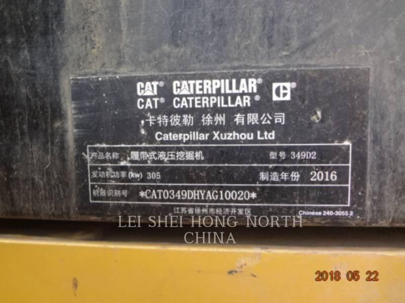 CATERPILLAR KETTEN-HYDRAULIKBAGGER 349D2 equipment  photo 15