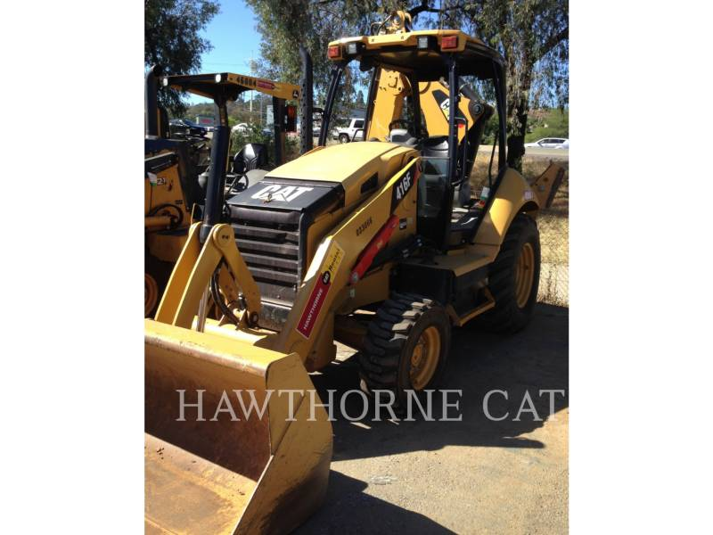 CATERPILLAR BACKHOE LOADERS 416F 2WD equipment  photo 2