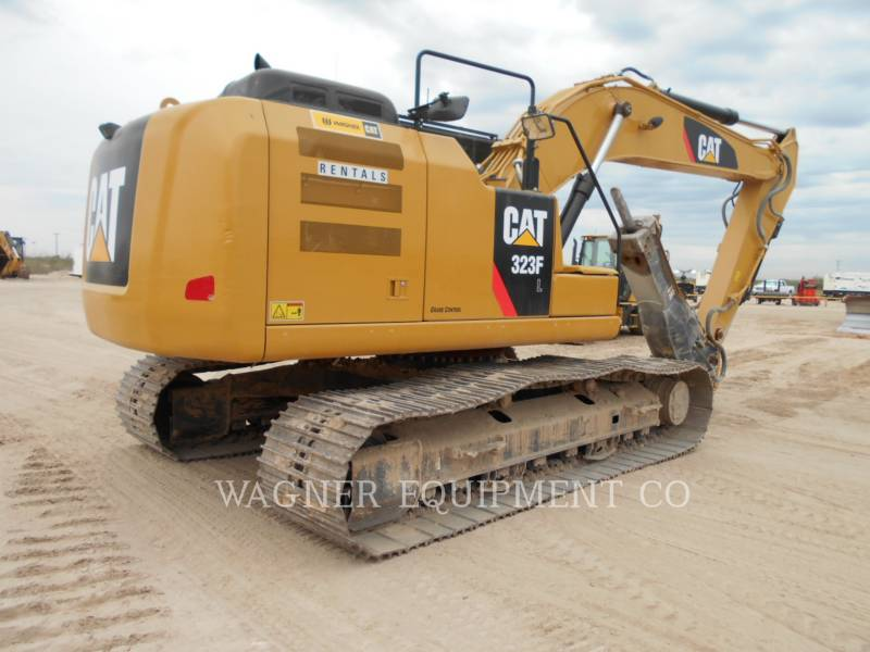 CATERPILLAR KOPARKI GĄSIENICOWE 323FL HMR equipment  photo 4