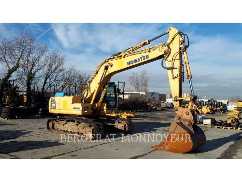 KOMATSU PELLES SUR CHAINES PC210LC6 equipment  photo 4