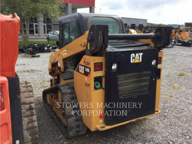 CATERPILLAR DELTALADER 249D equipment  photo 2