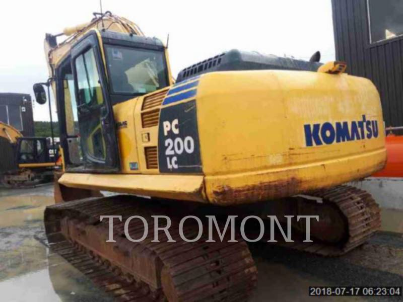 KOMATSU LTD. KETTEN-HYDRAULIKBAGGER PC200 equipment  photo 7