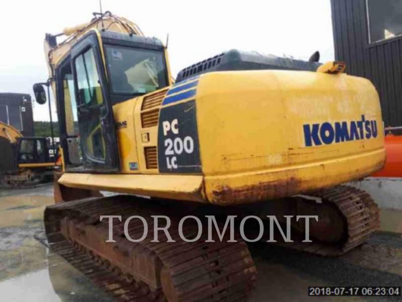 KOMATSU LTD. TRACK EXCAVATORS PC200 equipment  photo 4