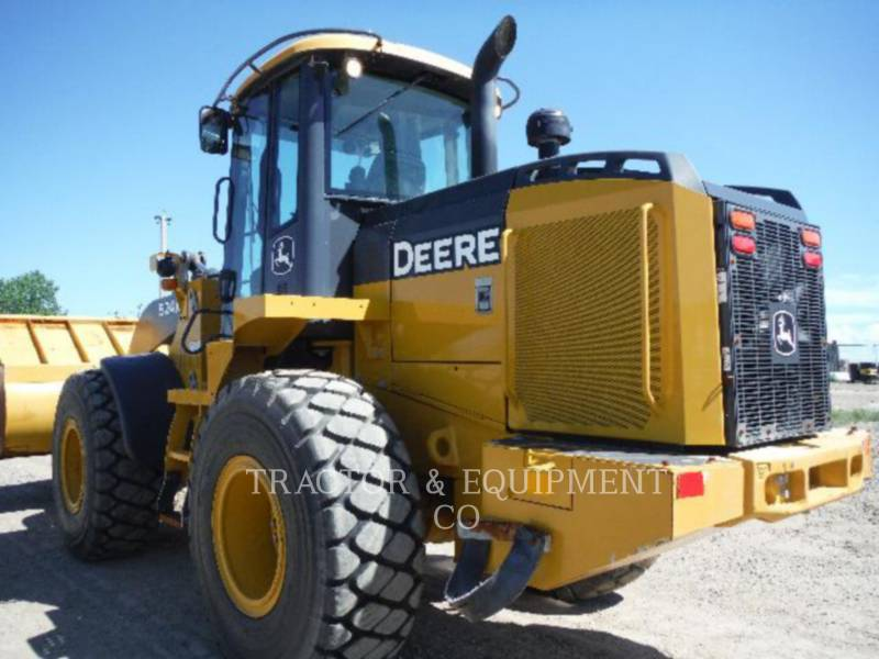 JOHN DEERE CARGADORES DE RUEDAS 524K equipment  photo 4