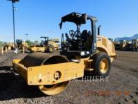 CATERPILLAR EINZELVIBRATIONSWALZE, GLATTBANDAGE CS44B equipment  photo 4