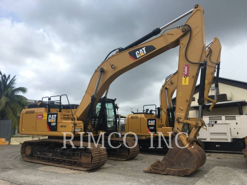 CATERPILLAR EXCAVADORAS DE CADENAS 336 F L equipment  photo 1