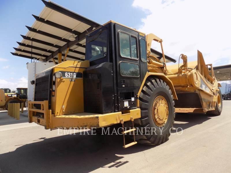 CATERPILLAR WHEEL TRACTOR SCRAPERS 631G equipment  photo 4
