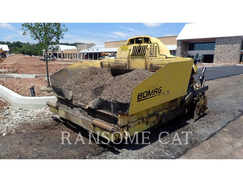 BOMAG PAVIMENTADORA DE ASFALTO 814-2 equipment  photo 1