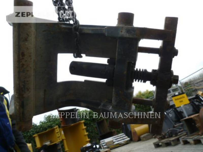 KAISER AG - HECKBAGGER-ARBEITSGERÄT CW10-307,B,C,308C equipment  photo 5