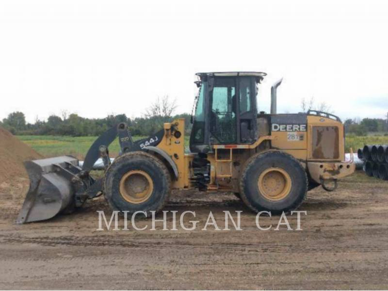 JOHN DEERE WHEEL LOADERS/INTEGRATED TOOLCARRIERS 544J equipment  photo 10