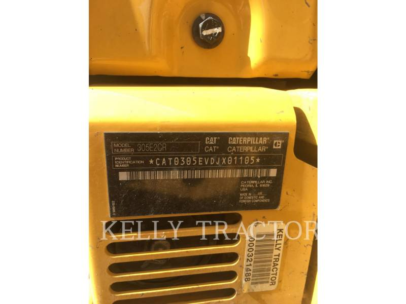 CATERPILLAR PELLES SUR CHAINES 305E2CR equipment  photo 15