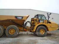 CATERPILLAR KNICKGELENKTE MULDENKIPPER 735C TG equipment  photo 5