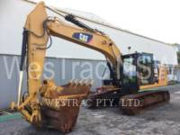 CATERPILLAR KETTEN-HYDRAULIKBAGGER 320EL equipment  photo 1