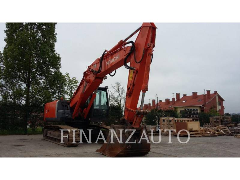 HITACHI KETTEN-HYDRAULIKBAGGER ZX210 equipment  photo 2