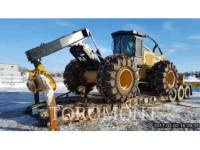 Equipment photo CATERPILLAR 545D MACCHINA FORESTALE 1