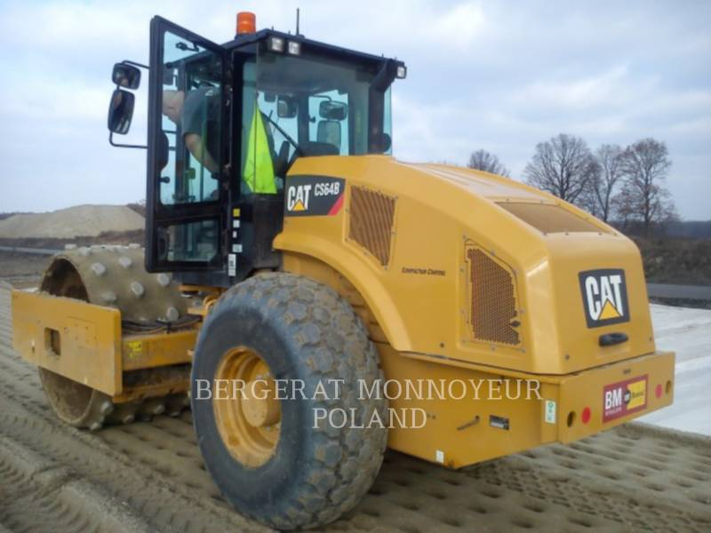 CATERPILLAR WALEC DO GRUNTU, GŁADKI CS64B equipment  photo 3
