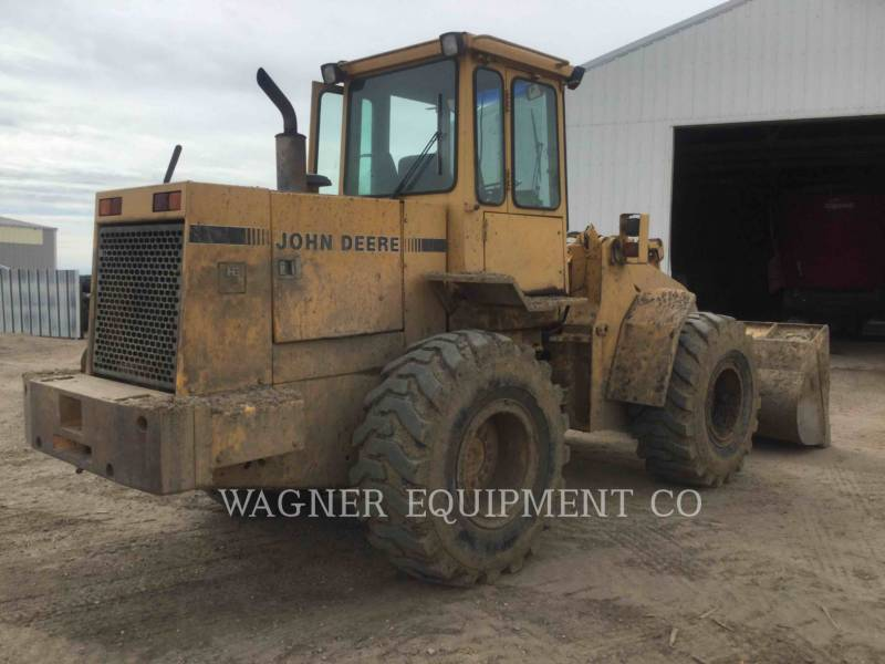 JOHN DEERE CARGADORES DE RUEDAS 544E equipment  photo 3
