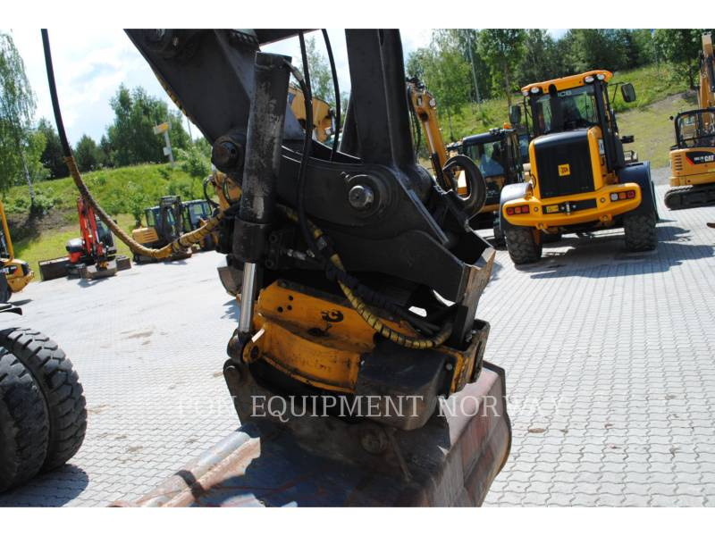 VOLVO CONSTRUCTION EQUIP BRASIL WHEEL EXCAVATORS EW 160 C equipment  photo 12