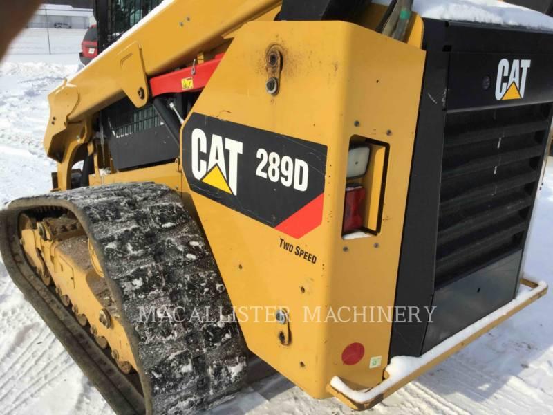 CATERPILLAR CARGADORES MULTITERRENO 289D equipment  photo 8